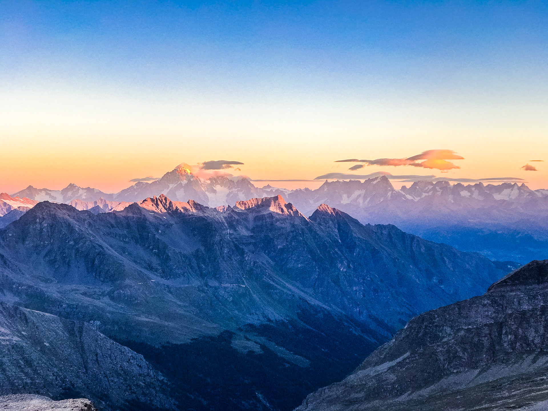Blick auf den Grand Paradiso (Foto: Trail.Cafe)