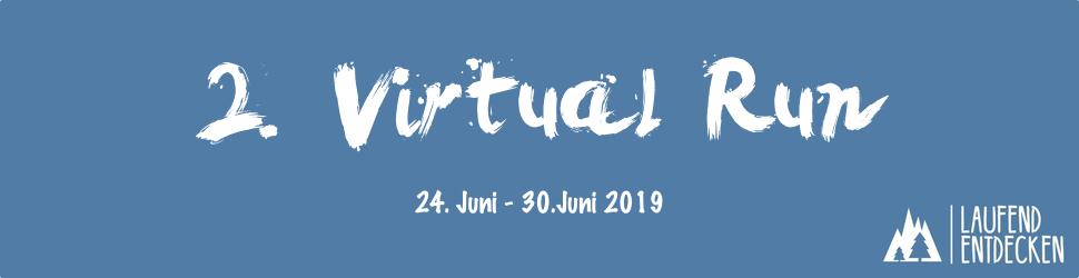Ende Juni startet der zweite Virtual Run des Laufend entdecken Podcast