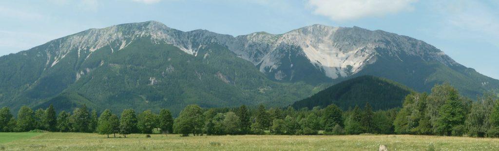 Panorama des Schneebergs