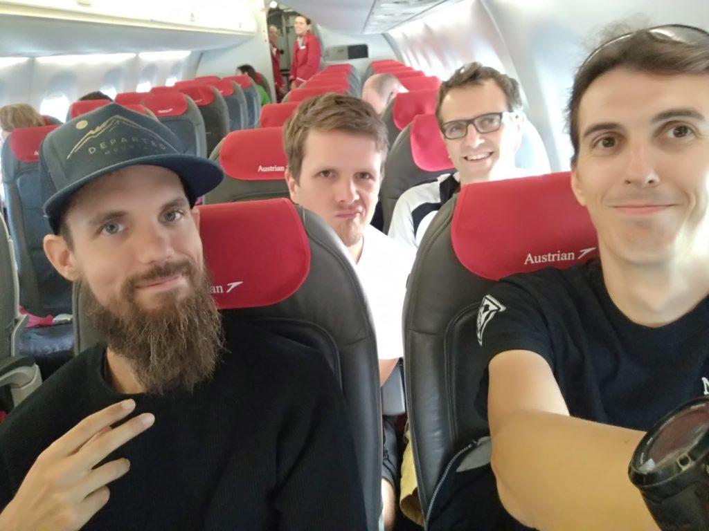 Abflug nach Genf