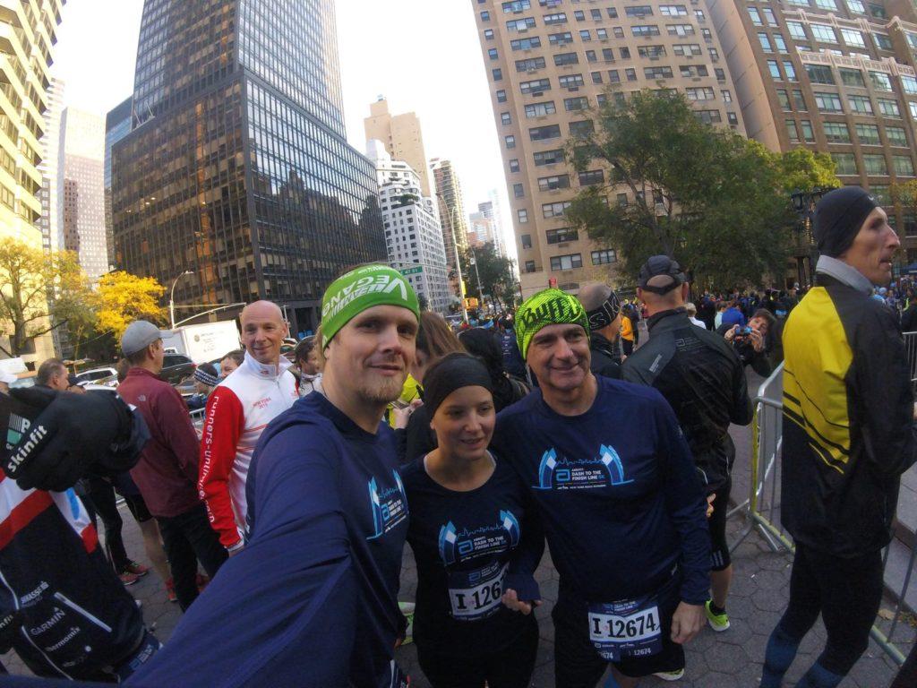 Endlich selbst mit Startnummer beim New York Marathon