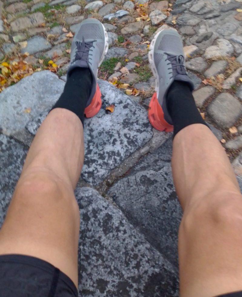 Kurven eines Ultraläufers