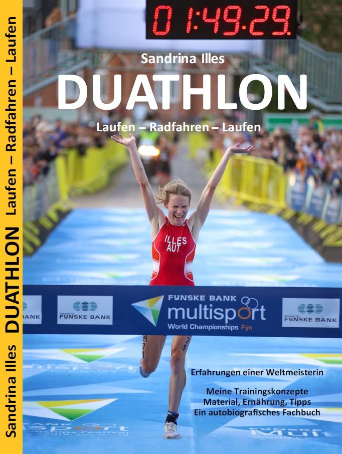 """Buchcover des Buchs """"Duathlon"""" von Sandrina Illes"""