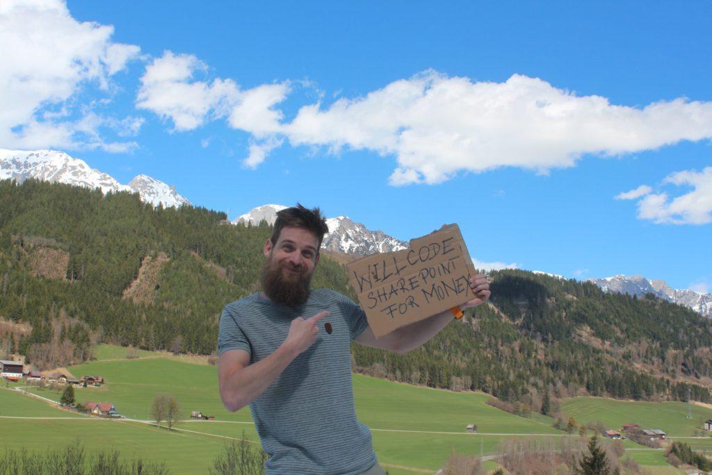 Florian Grasel ist Unternehmer, der in der IT sein Geld verdient (manchmal kann das auch sehr hart sein).
