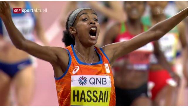 Siegerfoto von Sifan Hassan