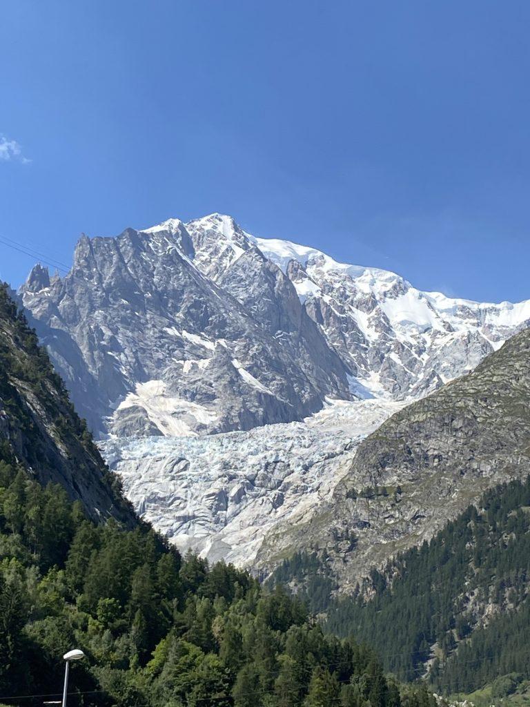 Stimmungsbild vom Mont Blanc
