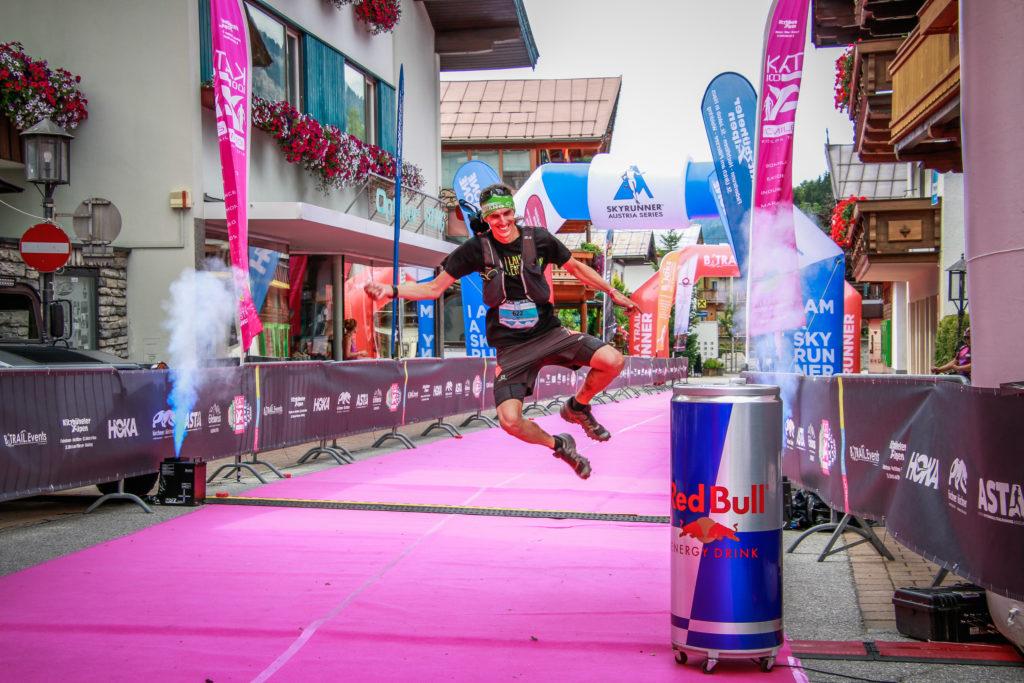 Zielsprung Peter beim KAT100